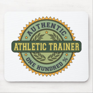 Authentic Athletic Trainer Mouse Pad