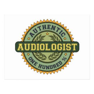 Authentic Audiologist Postcard