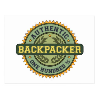Authentic Backpacker Post Cards