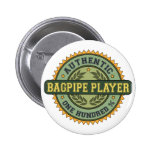 Authentic Bagpipe Player Pinback Buttons