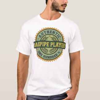 Authentic Bagpipe Player T-Shirt
