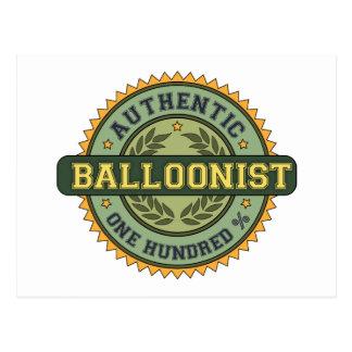 Authentic Balloonist Postcard