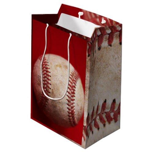 Authentic Baseball Photo Gift Bag