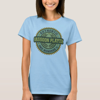 Authentic Bassoon Player T-Shirt