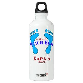 Authentic Beach Bum Kauai Hawaii Water Bottle
