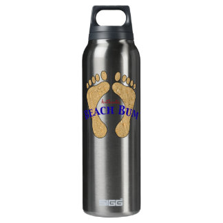 Authentic Beach Bum Sandy Feet 16 Oz Insulated SIGG Thermos Water Bottle