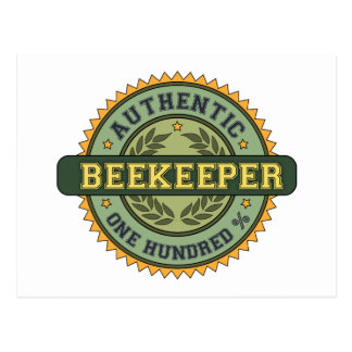 Authentic Beekeeper Post Card