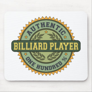 Authentic Billiard Player Mouse Pad