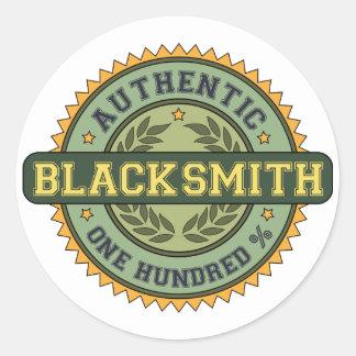 Authentic Blacksmith Classic Round Sticker