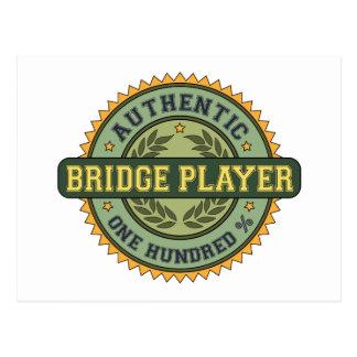 Authentic Bridge Player Postcards