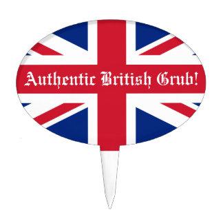 Authentic British Grub!-U.K. Flag Cake Picks