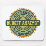 Authentic Budget Analyst Mouse Mats