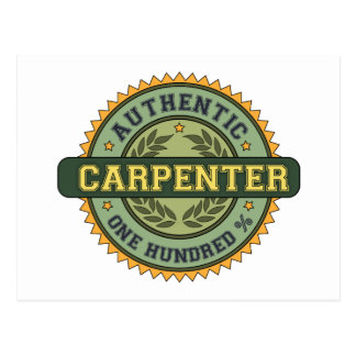 Authentic Carpenter Postcards