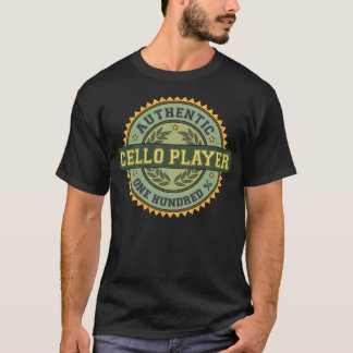 Authentic Cello Player T-Shirt