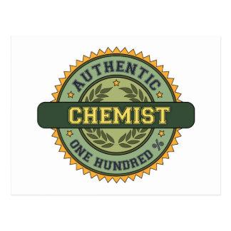 Authentic Chemist Postcard
