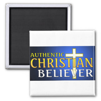 Authentic Christian believer gift design Magnet
