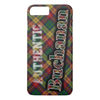 Authentic Clan Buchanan Scottish Tartan Design iPhone 7 Plus Case