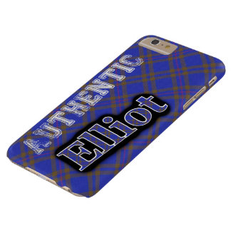 Authentic Clan Elliot Scottish Tartan Design Case