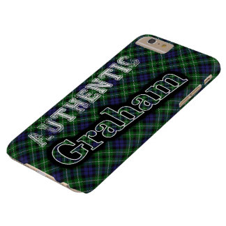 Authentic Clan Graham Scottish Tartan Design Barely There iPhone 6 Plus Case