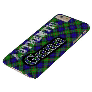 Authentic Clan Gunn Scottish Tartan Design Barely There iPhone 6 Plus Case