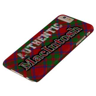 Authentic Clan MacIntosh Scottish Tartan Design Barely There iPhone 6 Plus Case