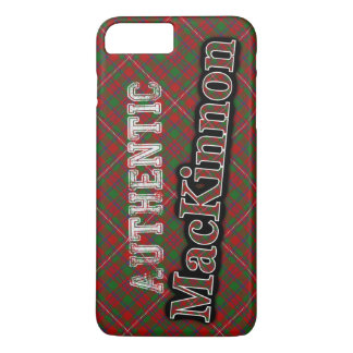 Authentic Clan MacKinnon Scottish Tartan Design iPhone 8 Plus/7 Plus Case