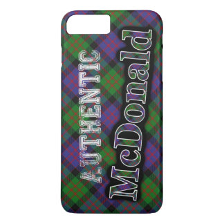 Authentic Clan McDonald Scottish Tartan Design iPhone 8 Plus/7 Plus Case
