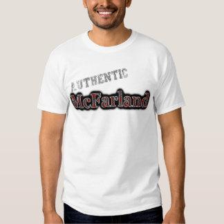 Authentic Clan McFarland MacFarlane Tartan Name T-shirt
