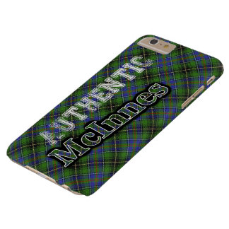 Authentic Clan McInnes Scottish Tartan Design Barely There iPhone 6 Plus Case