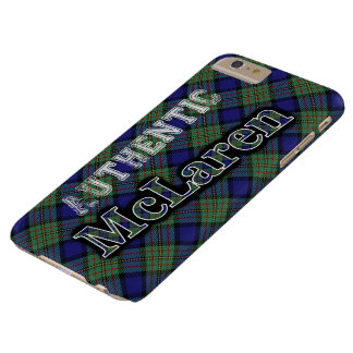 Authentic Clan McLaren Scottish Tartan Design Barely There iPhone 6 Plus Case