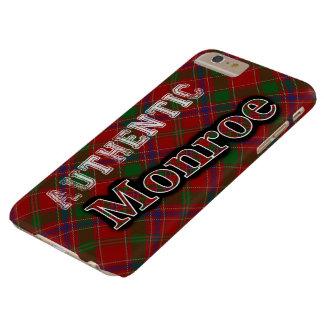 Authentic Clan Monroe Scottish Tartan Design Barely There iPhone 6 Plus Case