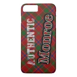 Authentic Clan Monroe Scottish Tartan Design iPhone 8 Plus/7 Plus Case