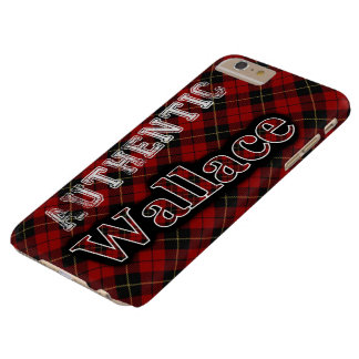 Authentic Clan Wallace Scottish Tartan Design Case