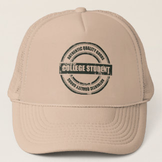 Authentic College Student Trucker Hat