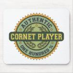 Authentic Cornet Player Mouse Mat