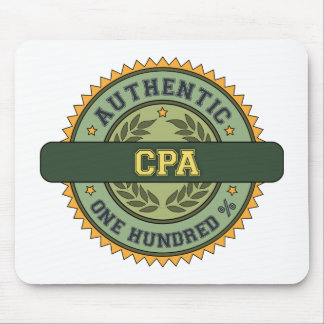 Authentic CPA Mouse Pad