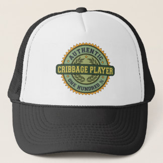 Authentic Cribbage Player Trucker Hat