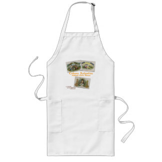 Authentic Cuban Woman Apron (cigar box)