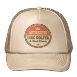 Authentic Disc Golfer Vintage Gift Idea Trucker Hat