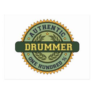 Authentic Drummer Postcard