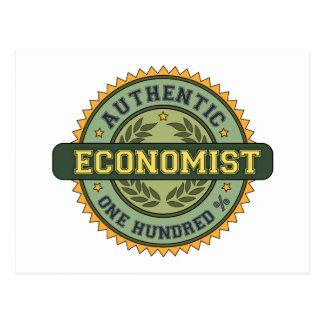 Authentic Economist Postcard