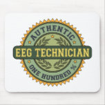 Authentic EEG Technician Mouse Pad