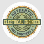 Authentic Electrical Engineer Sticker