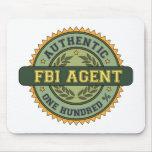 Authentic FBI Agent Mouse Mats