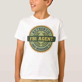 Authentic FBI Agent T-Shirt