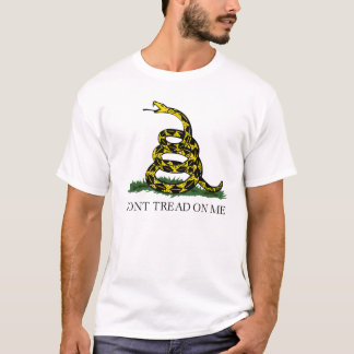 Authentic Gadsden Don't Tread on Me Flag T-Shirt