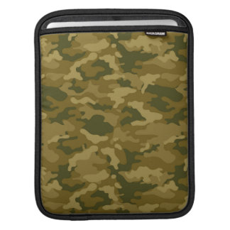 Authentic Green Army Military Camo Camouflage Sleeve For iPads