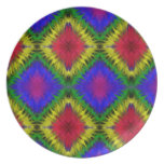 Authentic Gypsy Medallion Art Melamine Plate