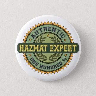 Authentic Hazmat Expert Button