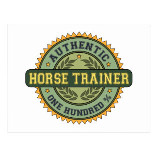 Authentic Horse Trainer Post Cards